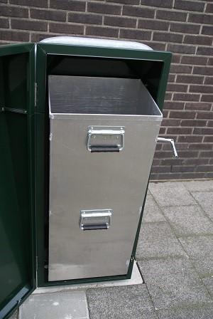 Buizerd afvalbak - Snaas Groep