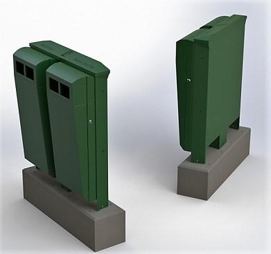 Duo Buizerd afvalbak - Snaas Groep
