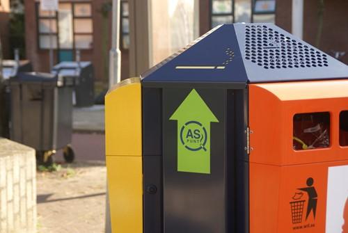 Trio Buizerd afvalbak - Snaas Groep
