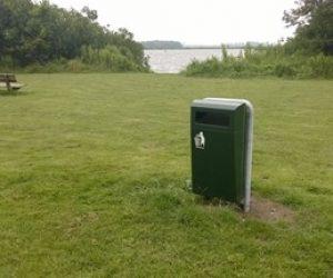 Buizerd afvalbak Gemeente Smallingerland - Helden van Staal