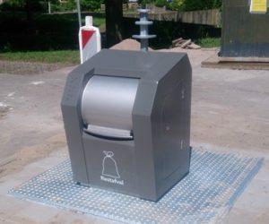 Ondergrondse afvalcontainer Gemeente Amsterdam - Snaas Groep