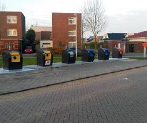 Semi-ondergrondse afvalcontainer Gemeente Utrecht - Snaas Groep