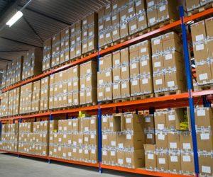 Palletstelling bij Allshoes Benelux - Helden van Staal